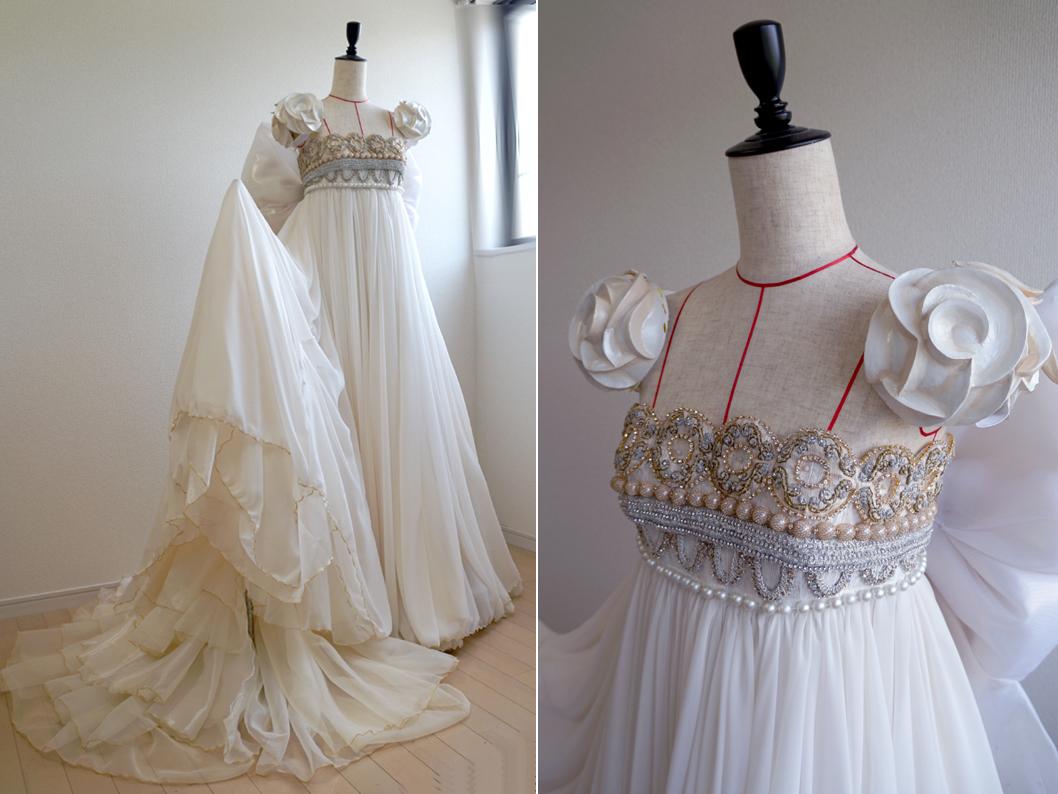 プリンセス・セレニティのドレス