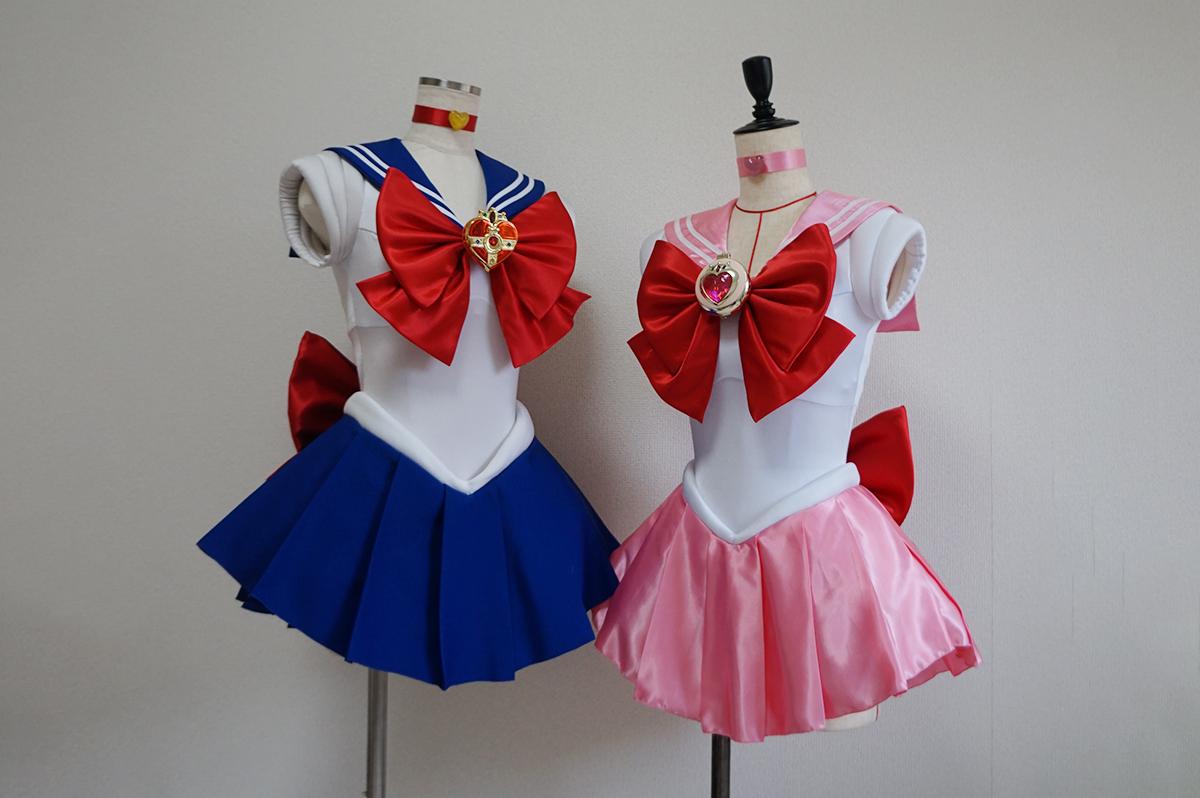 セーラームーン&セーラーちびムーンの戦闘服