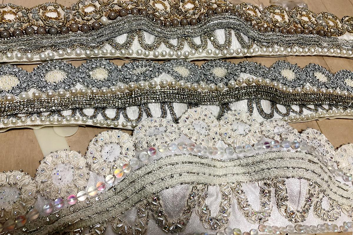 プリンセス・セレニティのドレスの胸元部分